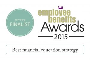 Best financial education strategy - Finalist - Adviser 2015 EB awards