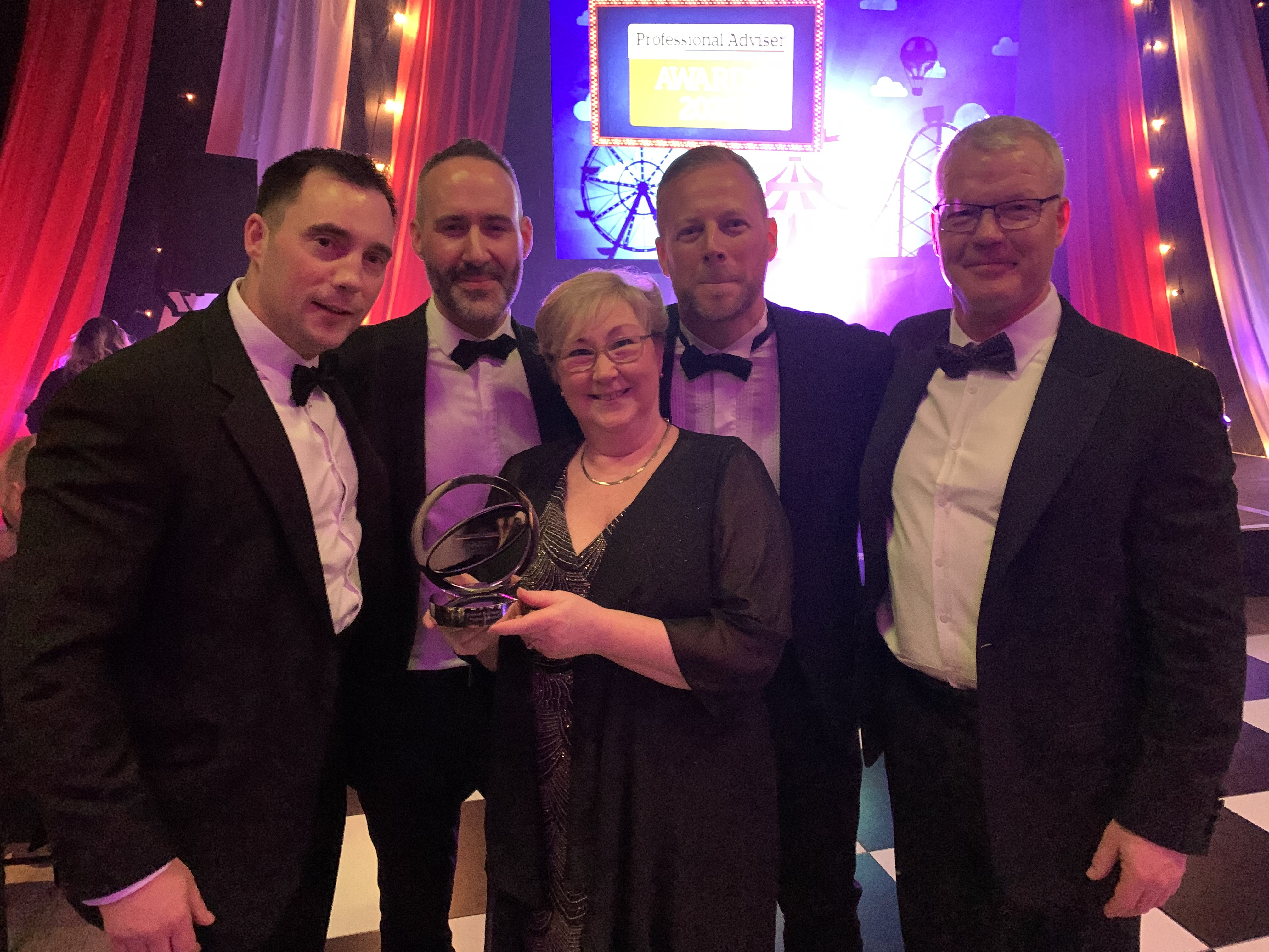 Foster Denovo win at Professional Adviser awards