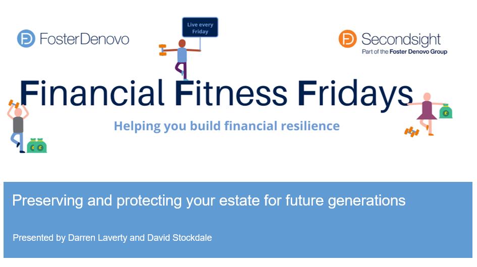 Financial Fitness Friday Estate Planning