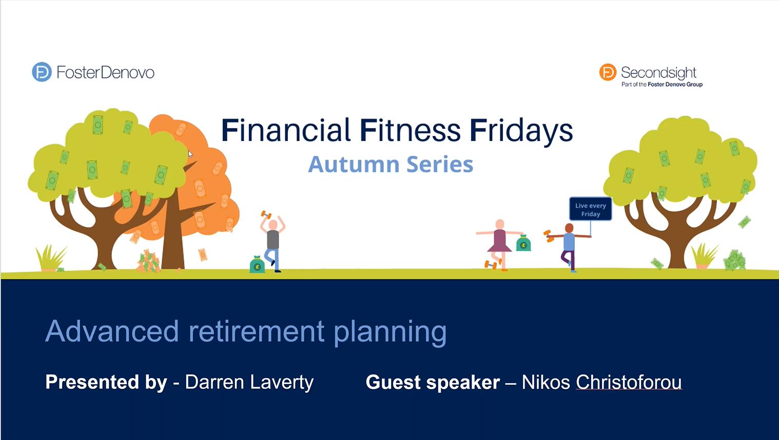Financial Fitness Fridays Autumn Series Week 1